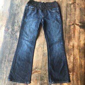Paige Maternity Laurel Canyon Bootcut Jeans 28